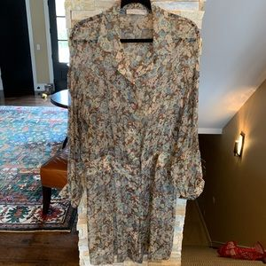 Stella McCartney long silk blouse